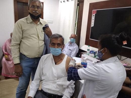 Justice KP Dev-vaccine