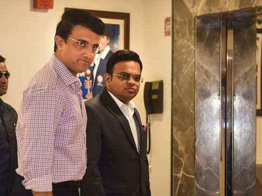 BCCI Jay Shah And Saurabh Ganguli