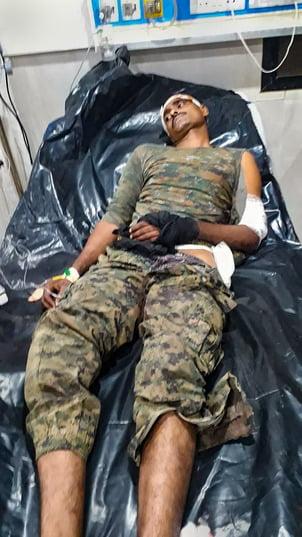 naxali attack in Chattishgarh