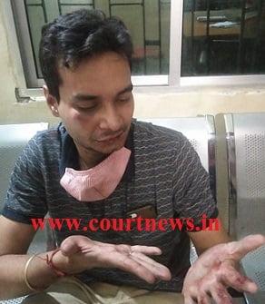 advocate Dipankar Rai assaulted